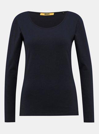Tmavomodré dámske basic tričko ZOOT Baseline Molly