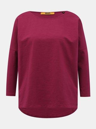 Tmavě růžové dámské basic tričko ZOOT Baseline Rosie