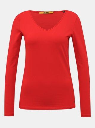 Červené dámské basic tričko ZOOT Baseline Tamara