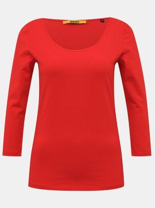 Červené dámske basic tričko ZOOT Baseline Theresa