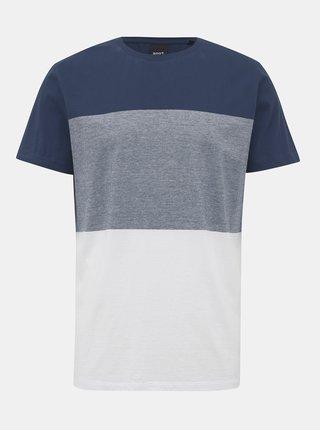 Bílo-modré pánské tričko ZOOT James
