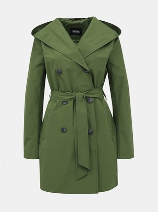 Trenciuri si paltoane subtiri pentru femei ZOOT - verde
