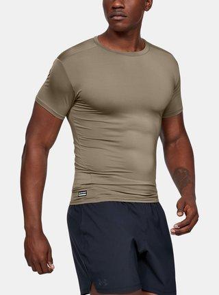 Hnědé pánské tričko Under Armour