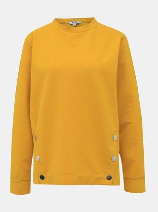 Žlutá mikina M&Co