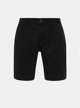 Čierne chino kraťasy Burton Menswear London