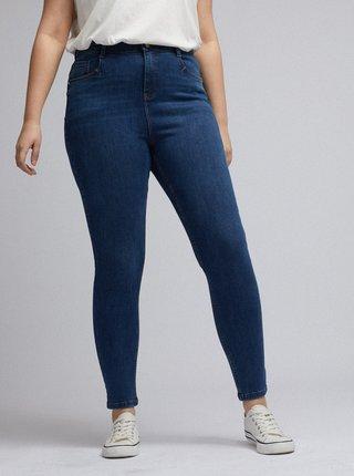 Tmavě modré skinny fit džíny Dorothy Perkins Curve Shape & Lift