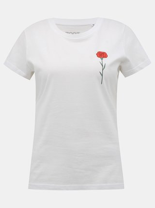 Bílé dámské tričko ZOOT Original Karafiát
