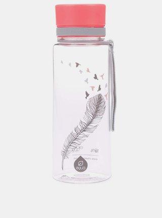 Plastová fľaša s motívom pierka EQUA (600 ml)