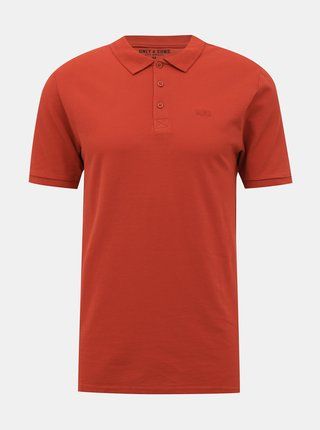 Červené basic polo tričko ONLY & SONS Scott
