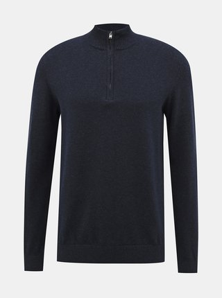 Tmavomodrý sveter Selected Homme Fernando