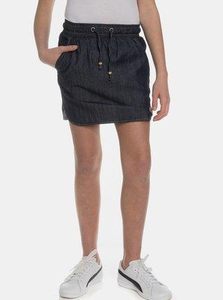 Tmavomodrá dievčenská sukňa SAM 73