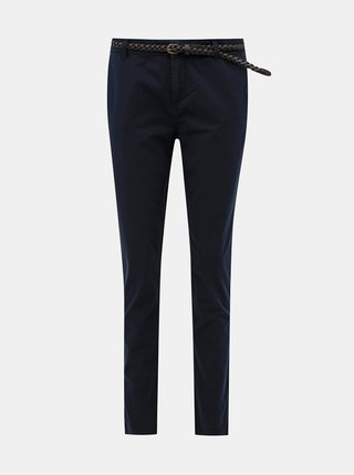 Tmavě modré kalhoty VERO MODA