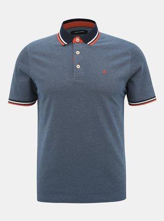 Tricouri polo pentru barbati Jack & Jones - albastru