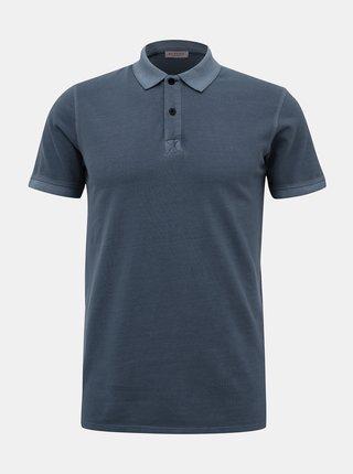 Tmavě modré basic polo tričko Selected Homme Soho