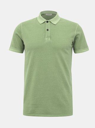 Světle zelené basic polo tričko Selected Homme Soho