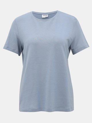 Modré basic tričko AWARE by VERO MODA Ava