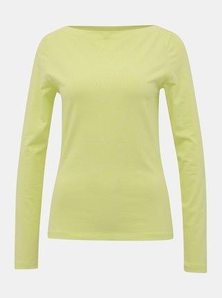 Světle zelené basic tričko VERO MODA Panda