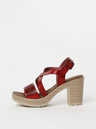 Červené sandálky Xti