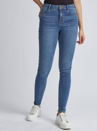 Svetlomodré skinny fit rifle Dorothy Perkins Shape & Lift