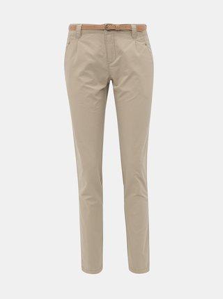 Béžové chino kalhoty VERO MODA