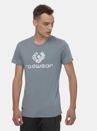 Šedé pánské tričko s potiskem Ragwear Charles