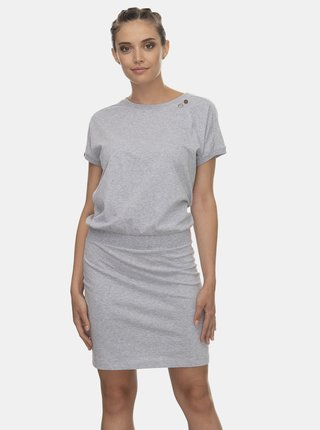Světle šedé šaty Ragwear Odyl