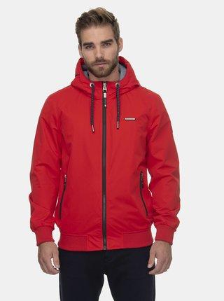 Červená pánska funkčná bunda Ragwear Percy