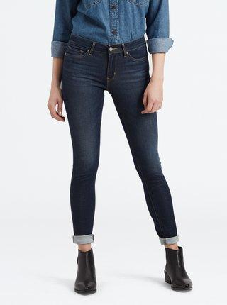 Tmavě modré dámské skinny fit džíny Levi's® 711