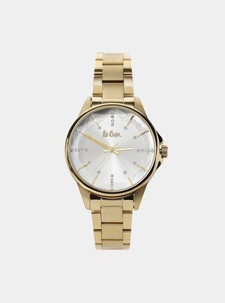 Dámské hodinky s nerezovým páskem ve zlaté barvě  Lee Cooper