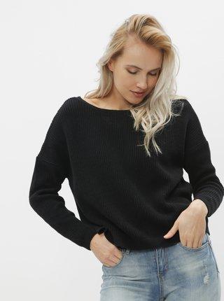 Černý oboustranný basic svetr ONLY Fbrynn