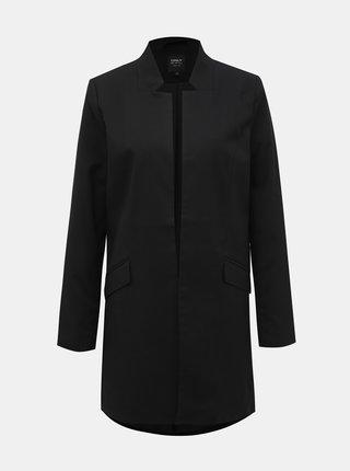 Černé dlouhé sako ONLY Soho-Ellen