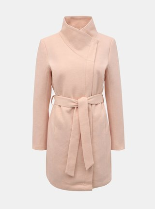 Ružový dámsky kabát ONLY Lelli