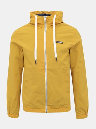 Žlutá voděodpudivá bunda Jack & Jones Harley