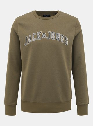 Kaki mikina Jack & Jones Premium Alex