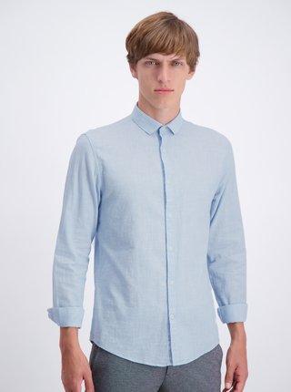 Světle modrá slim fit košile Lindbergh