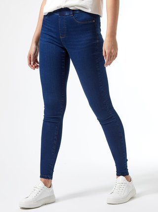 Modré  jeggings Dorothy Perkins Tall Eden