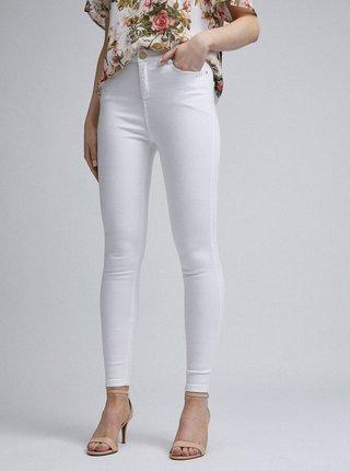 Bílé skinny fit džíny Dorothy Perkins Shape & Lift