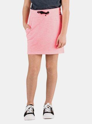 Neonovo ružová dievčenská sukňa SAM 73