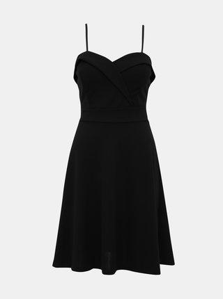 Čierne šaty Haily´s Roxanne