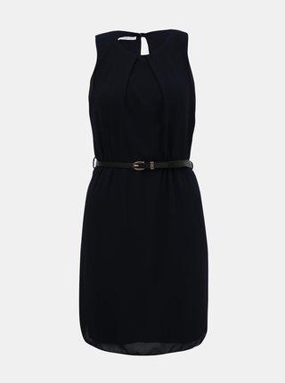 Tmavomodré šaty s opaskom Haily´s Tanja