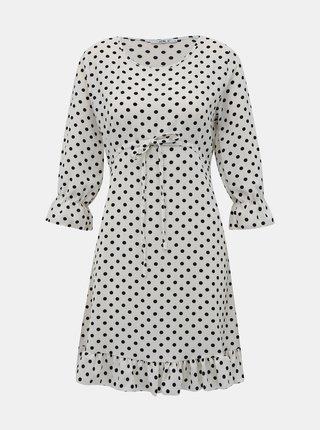 Bílé puntíkované šaty Haily´s Melly