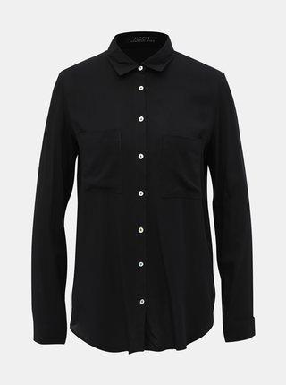Čierna dámska košeľa Alcott