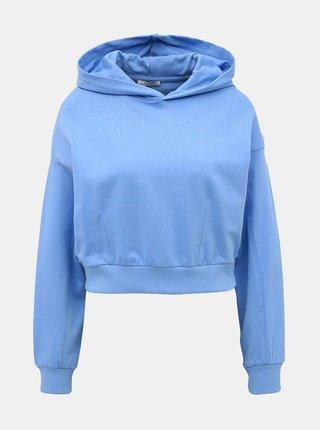 Modrá dámská krátká basic mikina Alcott