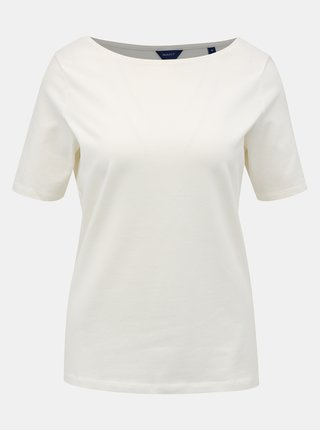 Bílé dámské basic tričko GANT