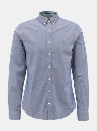 Modrá pánska vzorovaná košeľa GANT