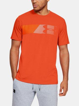 Oranžové pánské tričko Fast Under Armour