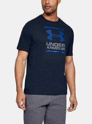 Modré pánské tričko Foundation Under Armour