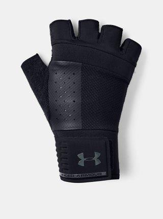 Černé pánské vzpěračské rukavice Under Armour