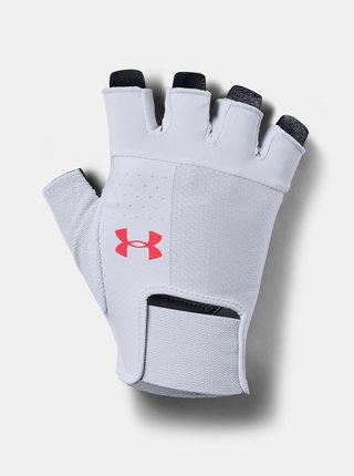 Šedé pánské fotbalové rukavice Under Armour