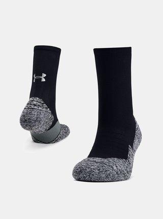 Černé pánské ponožky Run Cushion Under Armour